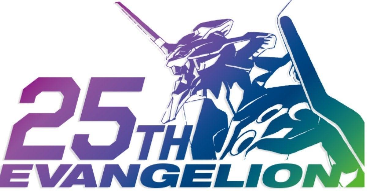 Neon Genesis Evangelion 25th Anniversary Logo Studio Khara