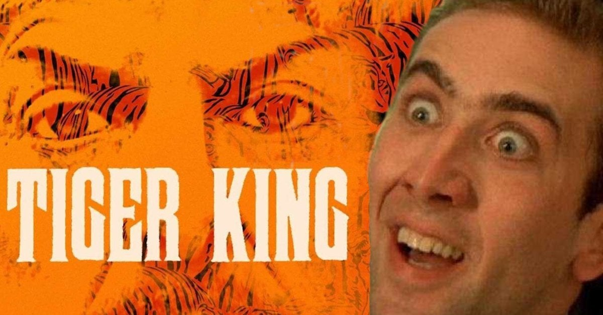 Nic Cage Tiger King Joe Exotic TV Series Amazon Prime Video