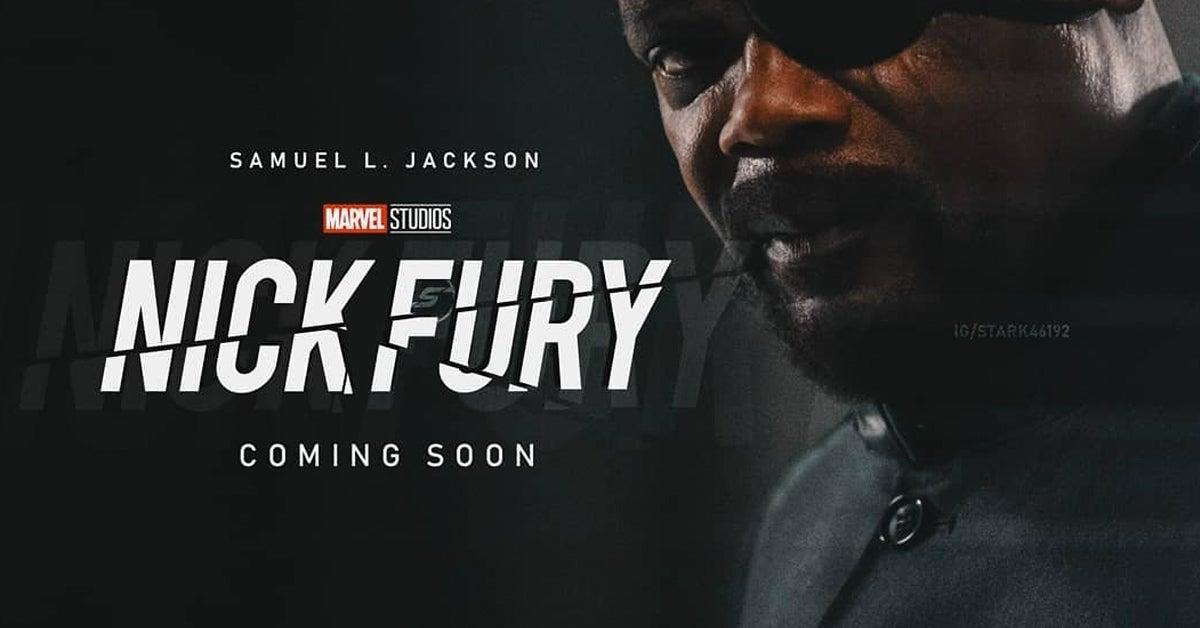 nick fury logo fan art