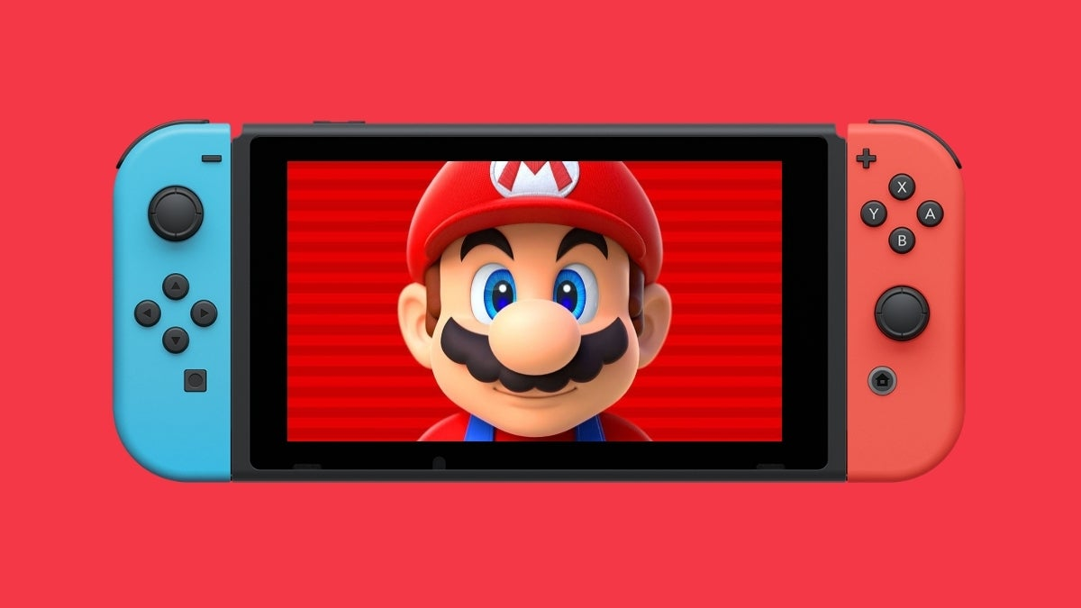 nintendo switch mario