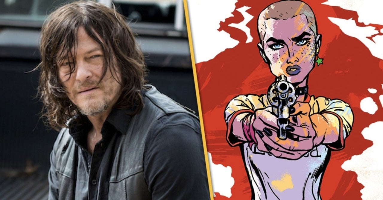 UNDONE BY BLOOD #1 1st print AFTERSHOCK COMIC 2020 NADLER optioned NORMAN REEDUS