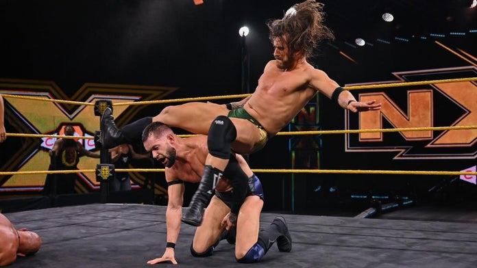 NXT-Adam-Cole-Finn-Balor-Iron-Man-Match-2