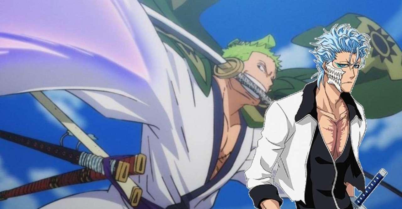 One Piece x Bleach Art Imagines Fierce Zoro and Grimmjow Fusion
