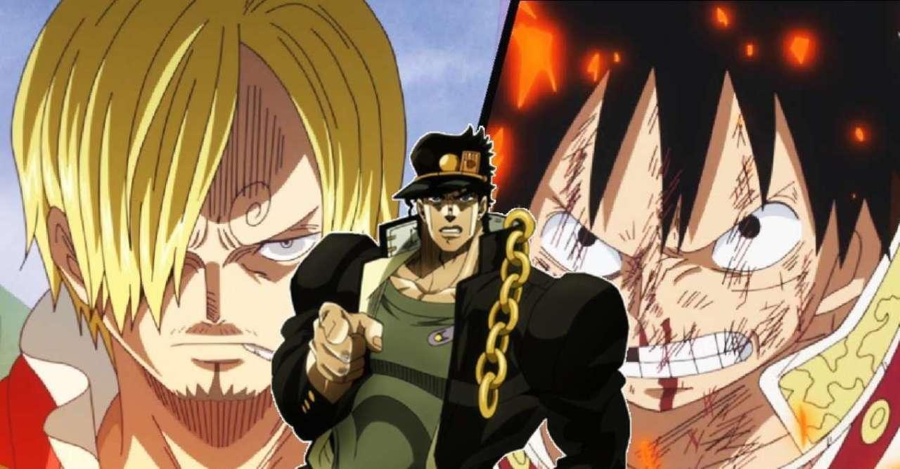 Hilarious JoJo's Bizarre Adventure Meme Meets One Piece for a Luffy vs Sanji Showdown