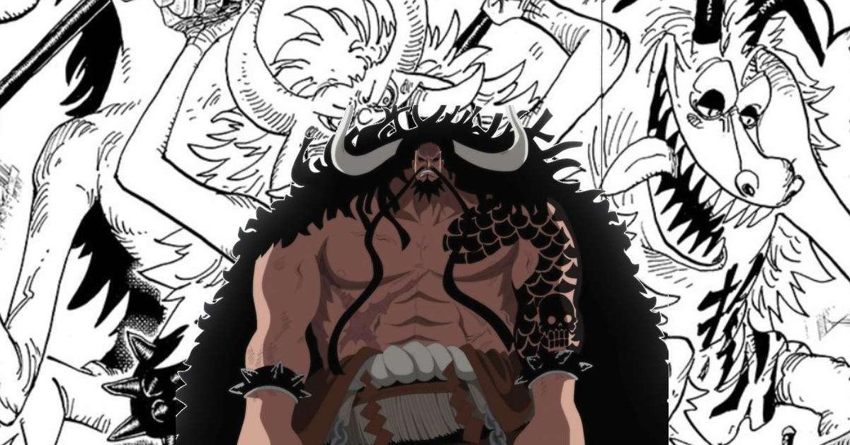 One Piece Kaido Big Monsters