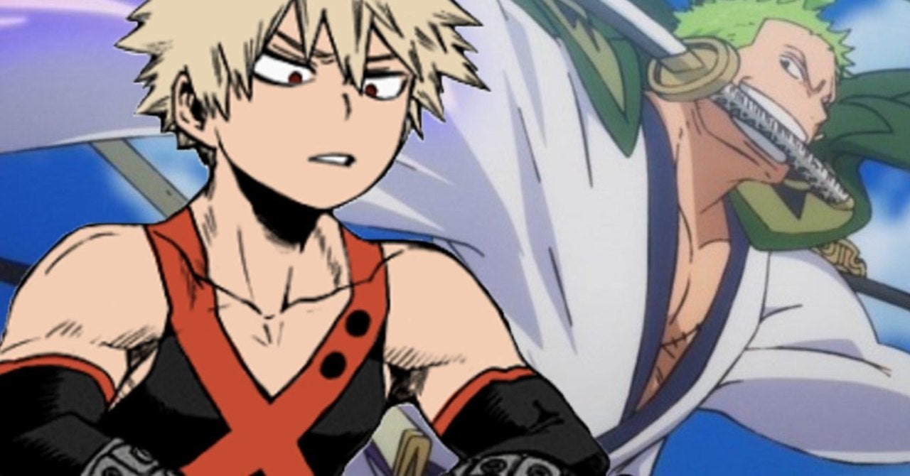 One Piece Meets Some Pro Heroes in This My Pirate Academia Crossover