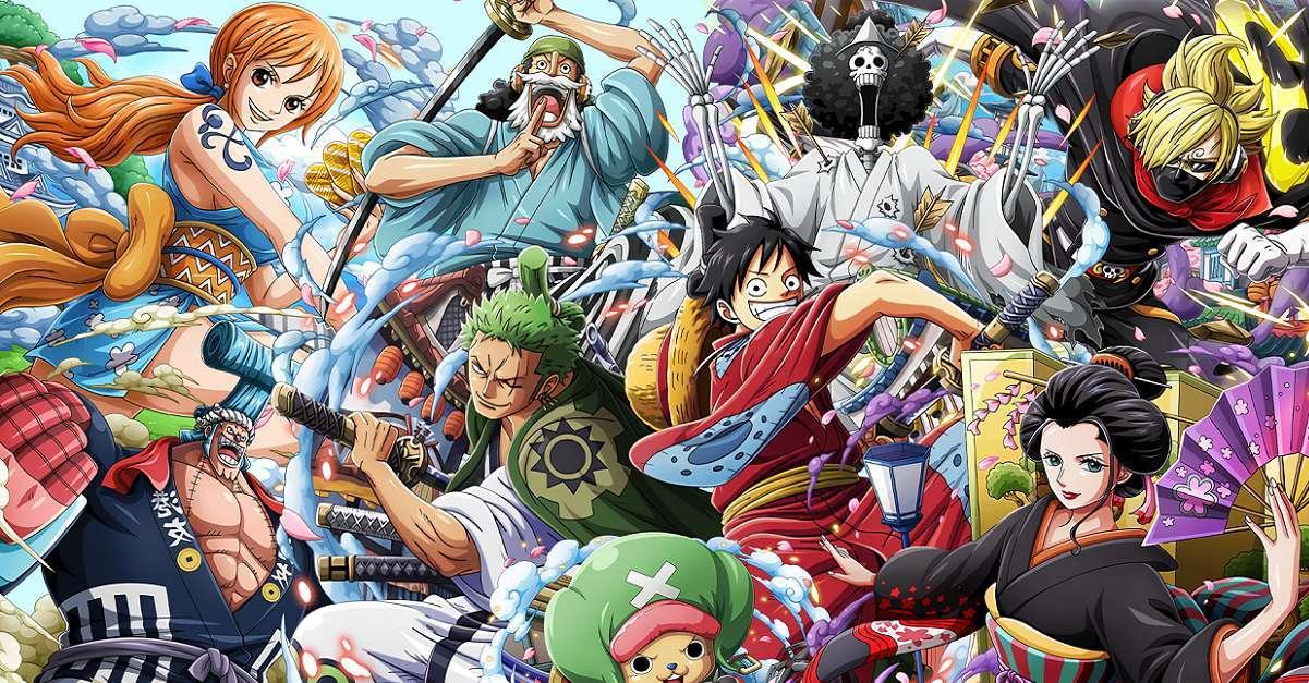 One Piece Wano Big Battle