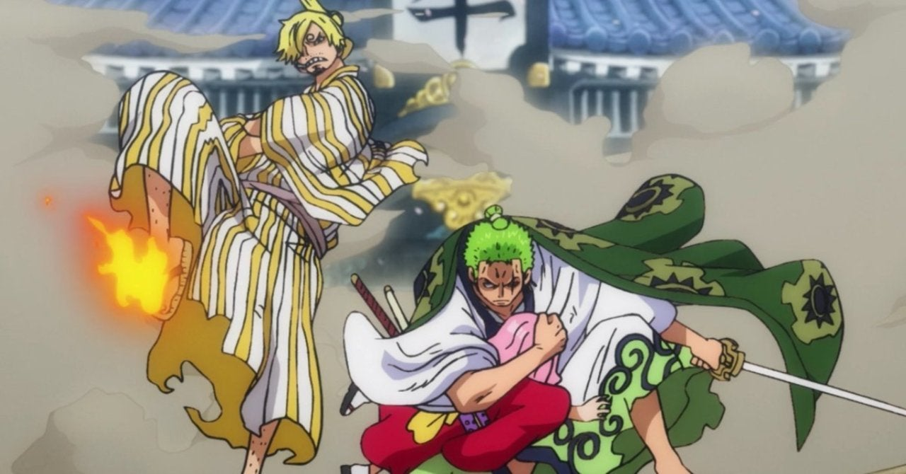 One Piece Didn T Disappoint With Zoro And Sanji S Big Reunion