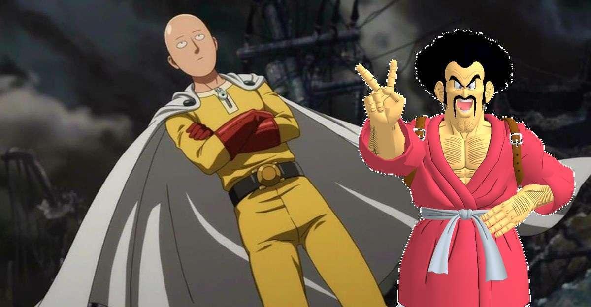 One Punch Man Mr Satan Dragon Ball Hercule