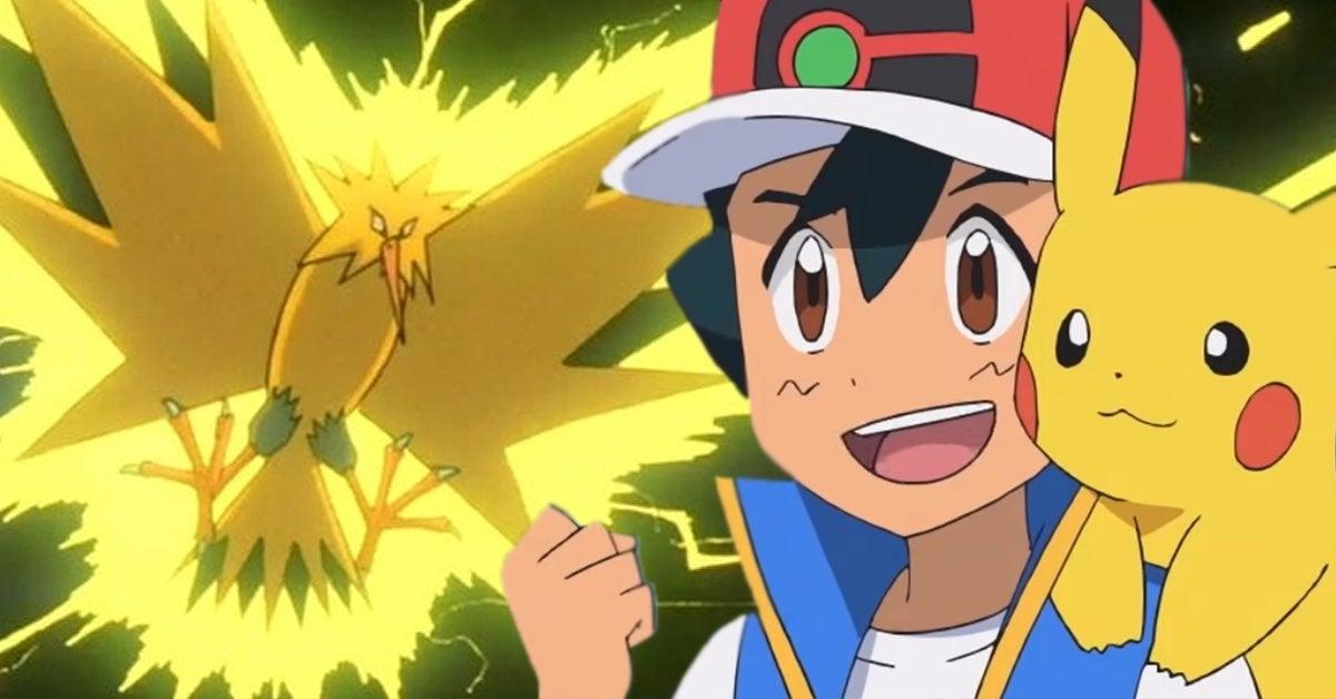 pokemon anime zapdos