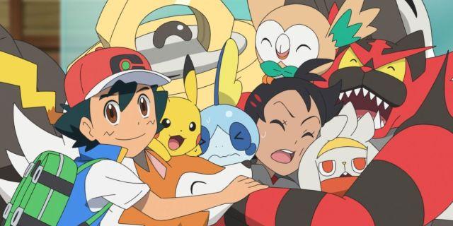 Pokemon Journeys Ash Alola Pokemon Team Reunion Watch Anime