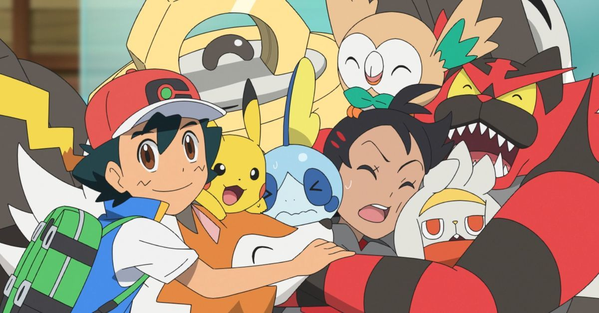 Pokemon Journeys Ash Alola Pokemon Team Reunion Watch Anime