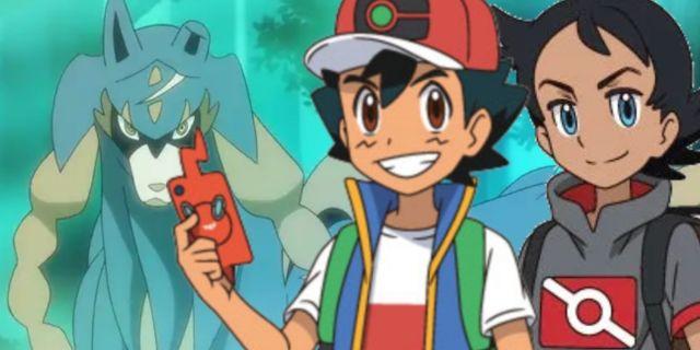 Pokemon Journeys Ash Goh Galar Legendaries Zacian Zamazenta