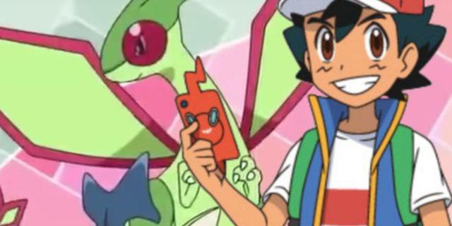 Pokemon Journeys Flygon Anime Debut Promo