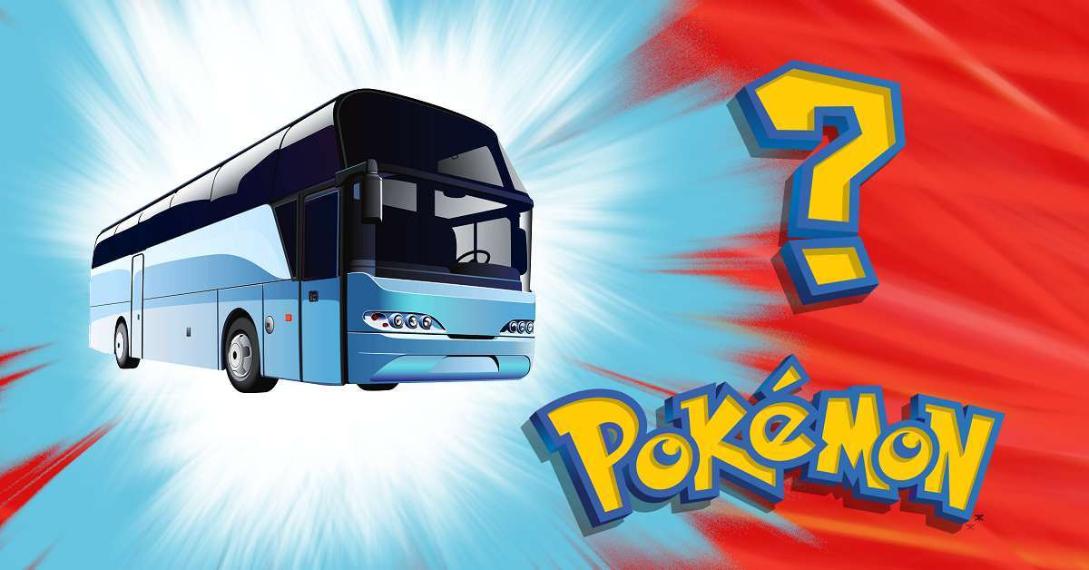 Pokemon Mystery Bus