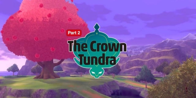 Pokemon Sword Shield Crown Tundra
