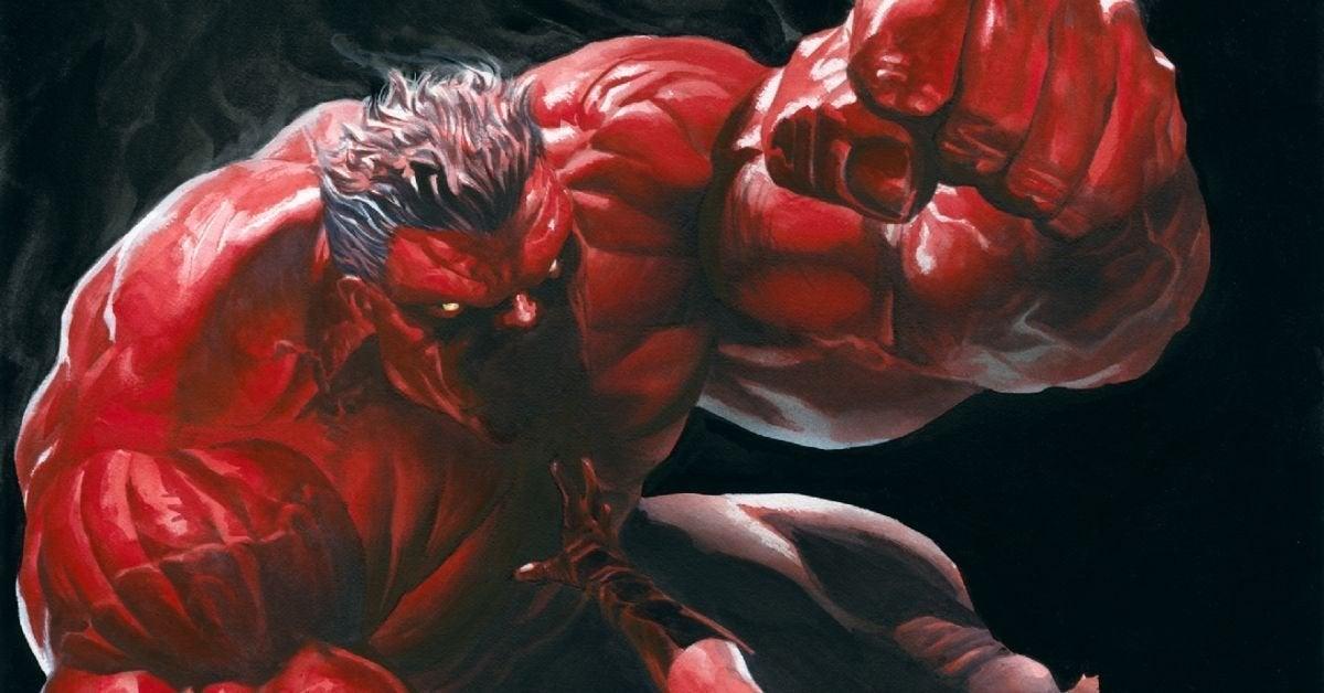 red hulk marvel comics captain america