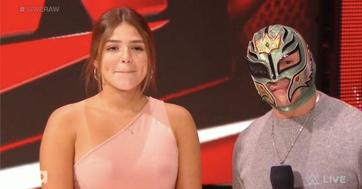 Rey Mysterio Daughter Paternity Test Seth Rollins Dominik Aalyah WWE