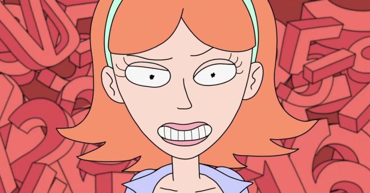 Rick and Morty Jessica Adult Swim
