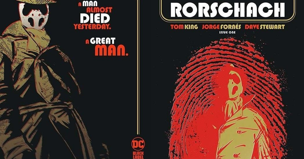 rorschach issue one wrap around cover