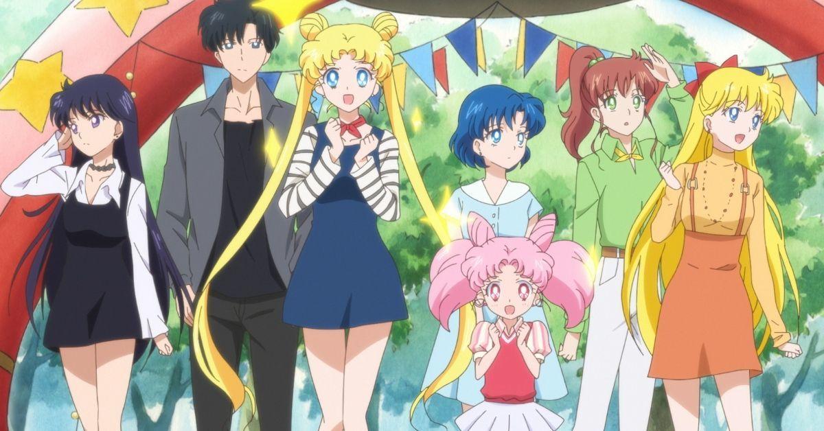 Sailor Moon Eternal Movie Sailor Scouts