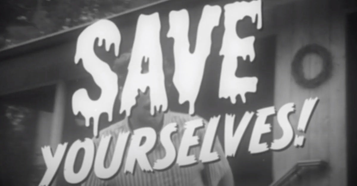 save yourselves movie retro trailer