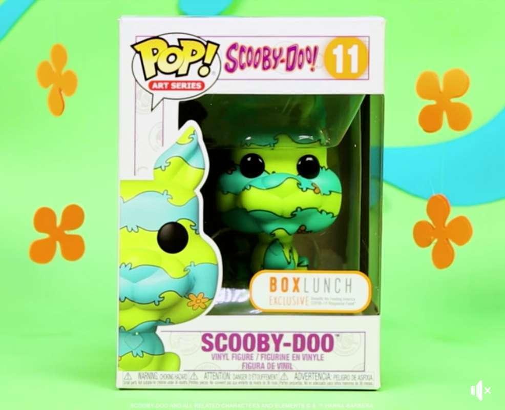 Funko Exclusive Art Series Scooby-Doo Pop Figure Arrives Tonight