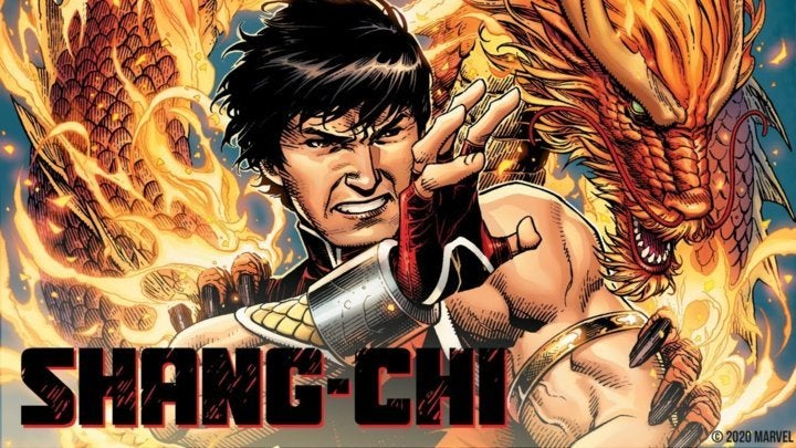 shang chi comic book