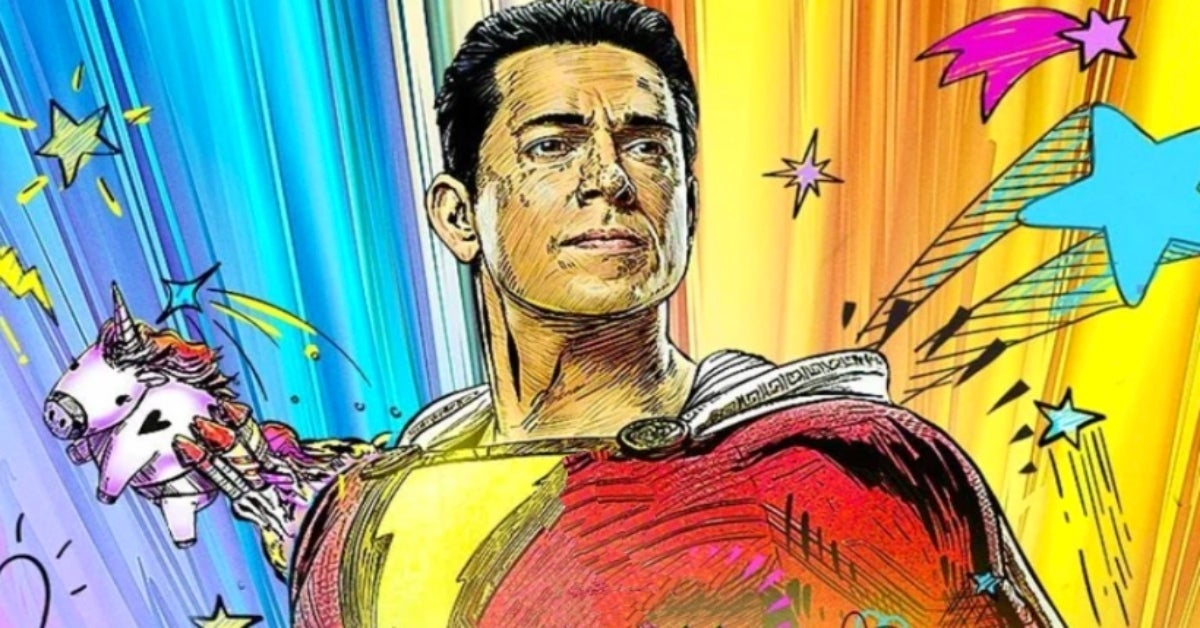 Shazam 2 Fury of the Gods Zachary Levi