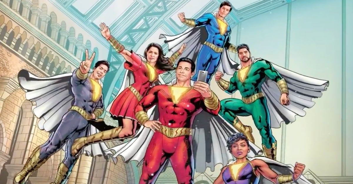 Shazam movie Shazamily