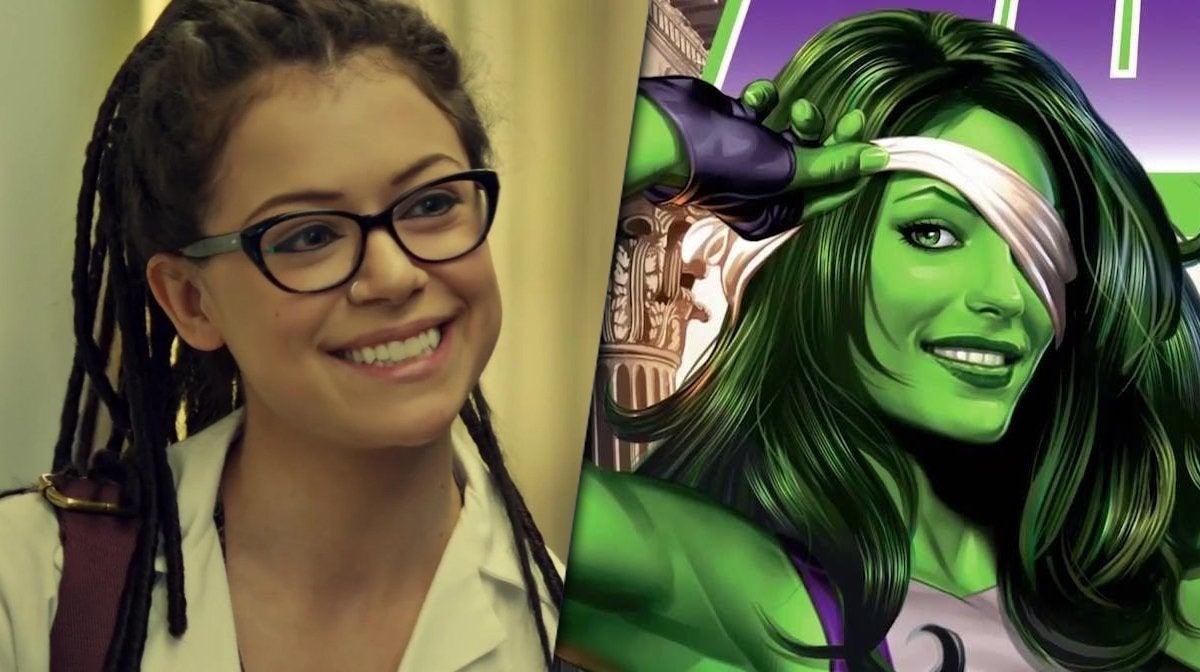 she hulk tatiana maslany marvel jennifer walters