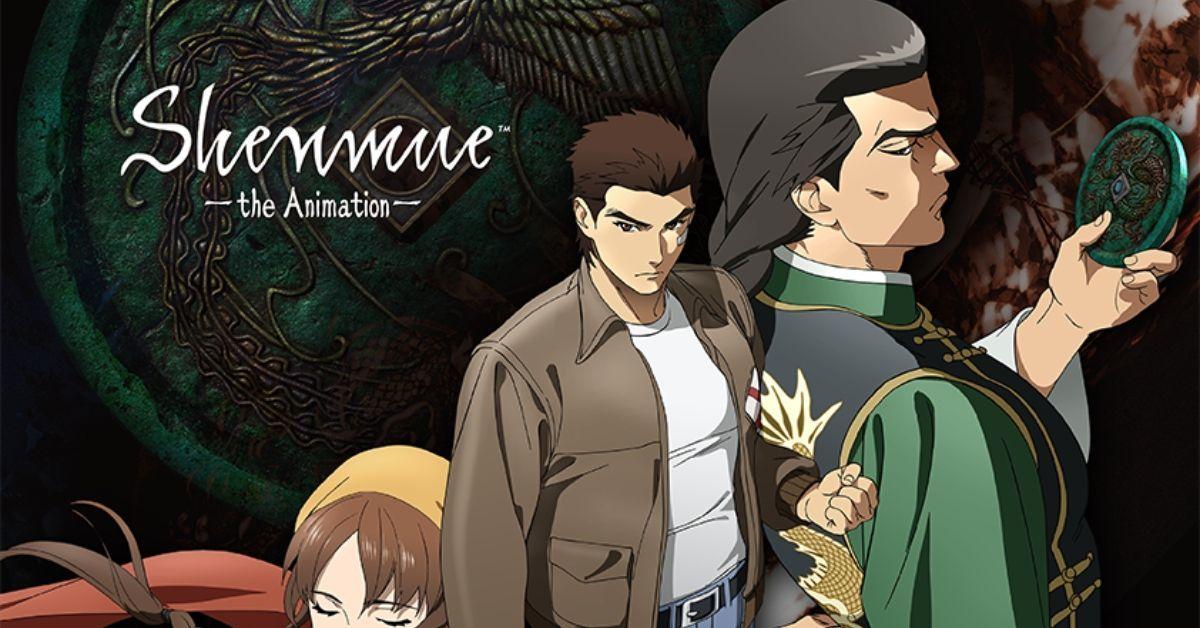 Shenmue Anime Crunchyroll Adult Swim