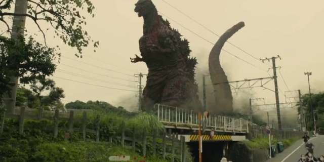 Shin Godzilla Japan Statue