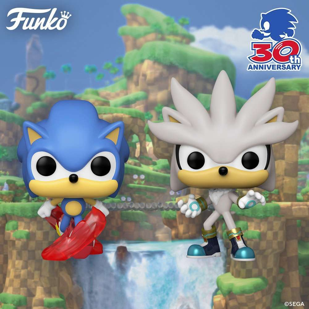 Funko Launches Sonic the Hedgehog 30th Anniversary Pop Figures