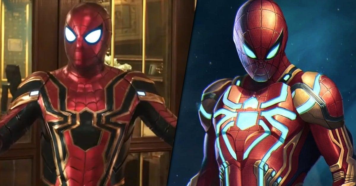 spider man 3 iron spider suit