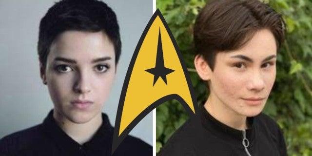 Star Trek First Non Binary Transgender Characters Disovery Season 3 LGBTQ