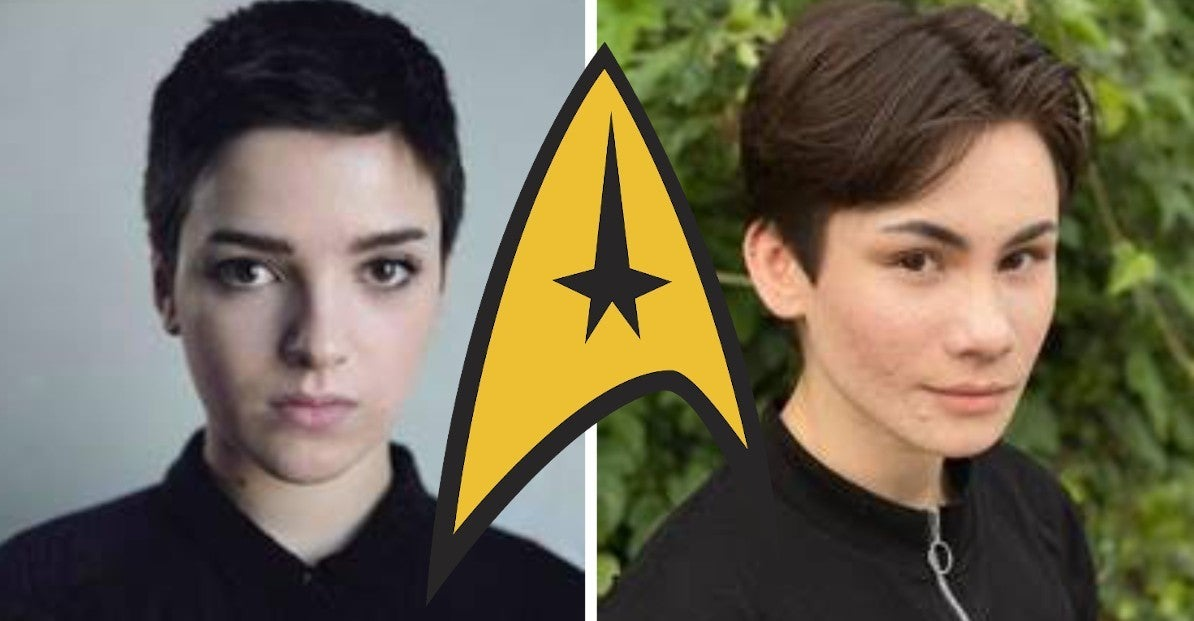 Star Trek First Non Binary Transgender Characters Disovery Season 3 LGBTQ