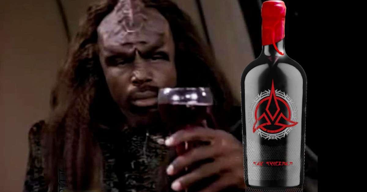 Star Trek Klingon Bloodwine