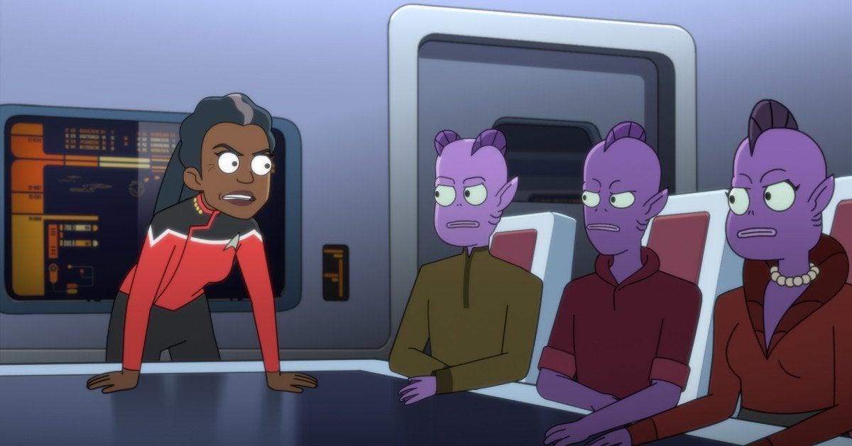 Star Trek Lower Decks Dawnn Lewis Live Action Alien