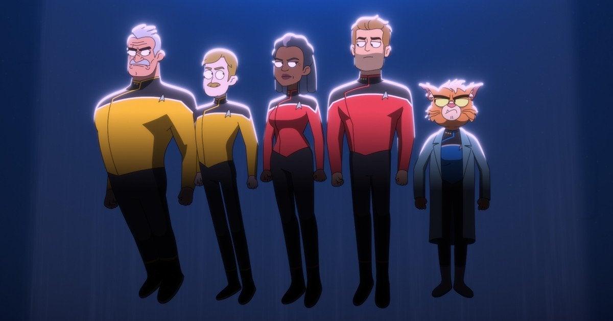 Star Trek Lower Decks Veritas