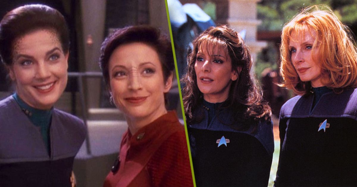 Star Trek Next Generation Deep Space Nine Women novels
