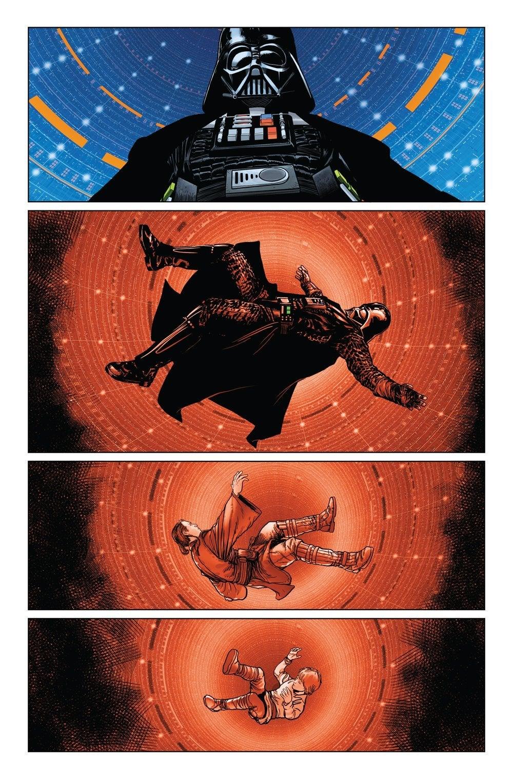 star wars darth vader fall issue 5 2020