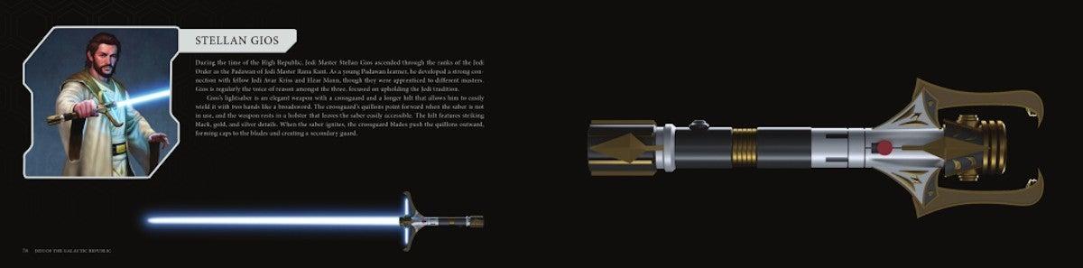Star Wars High Republic Stellan Gios Lightsaber Concept Artwork