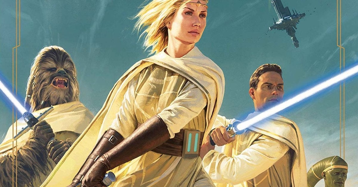 star wars light of the jedi high republic cover