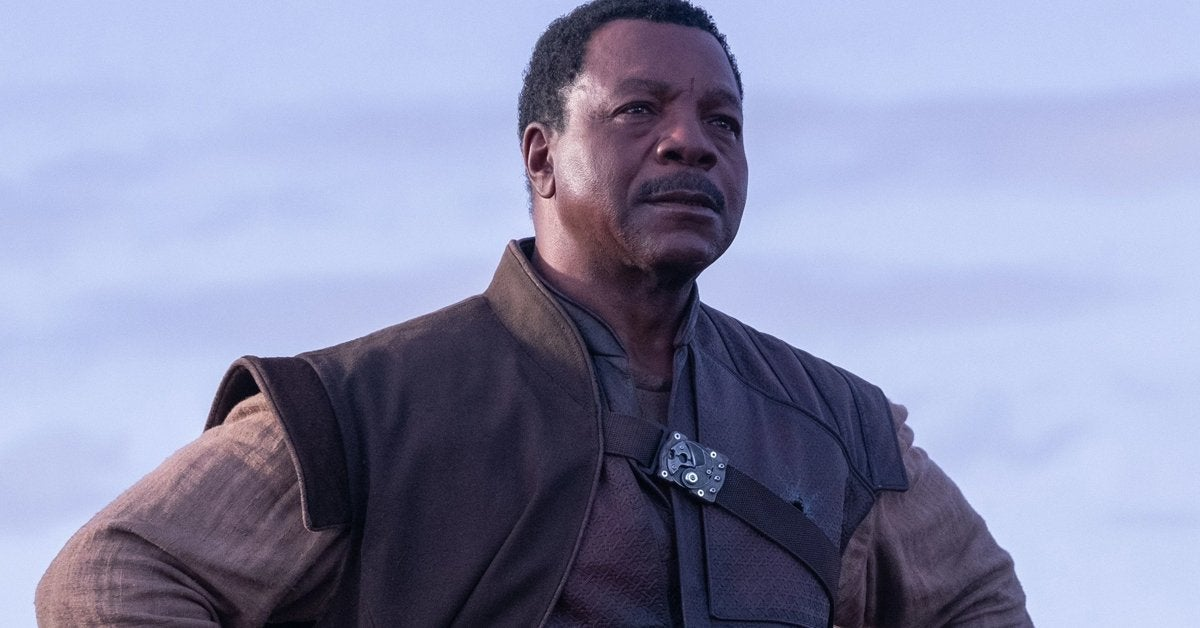 star wars mandalorian greef karga carl weathers
