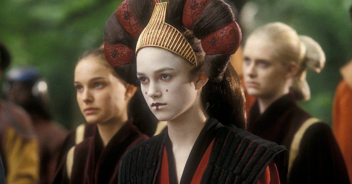 Star Wars Sabé Keira Knightley