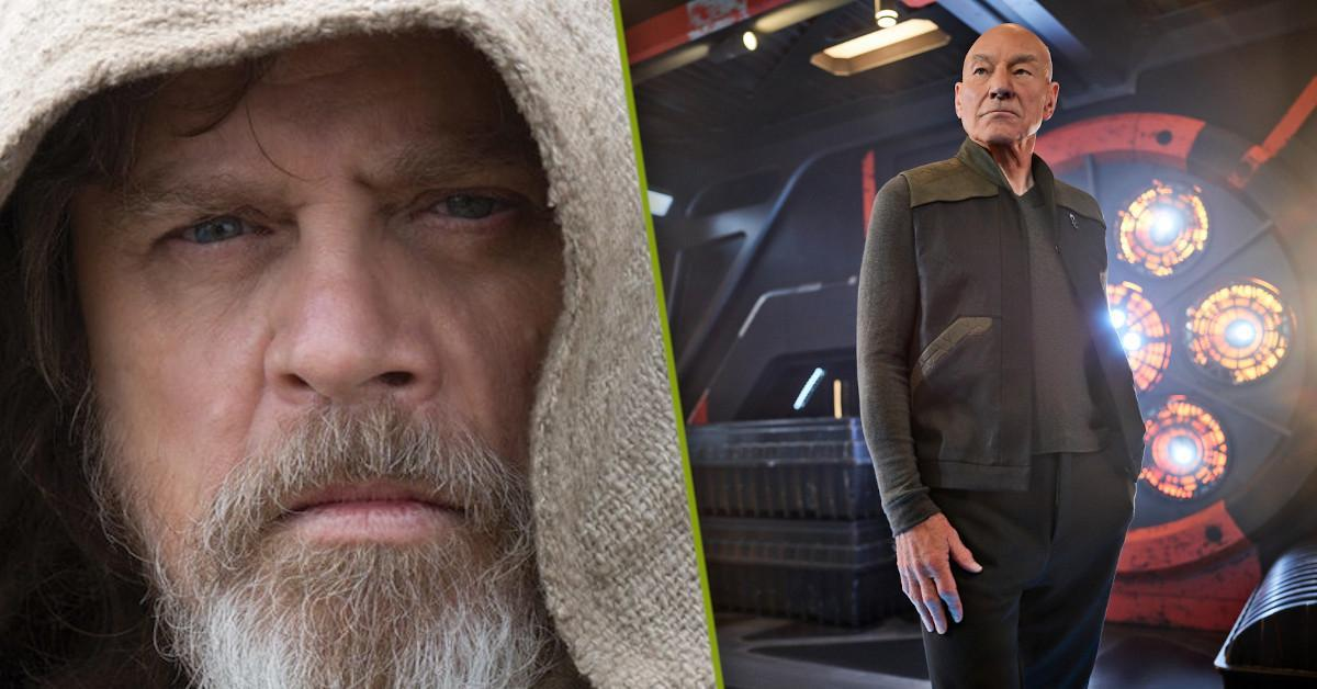 Star Wars Star Trek Crossover Movie Patrick Stewart