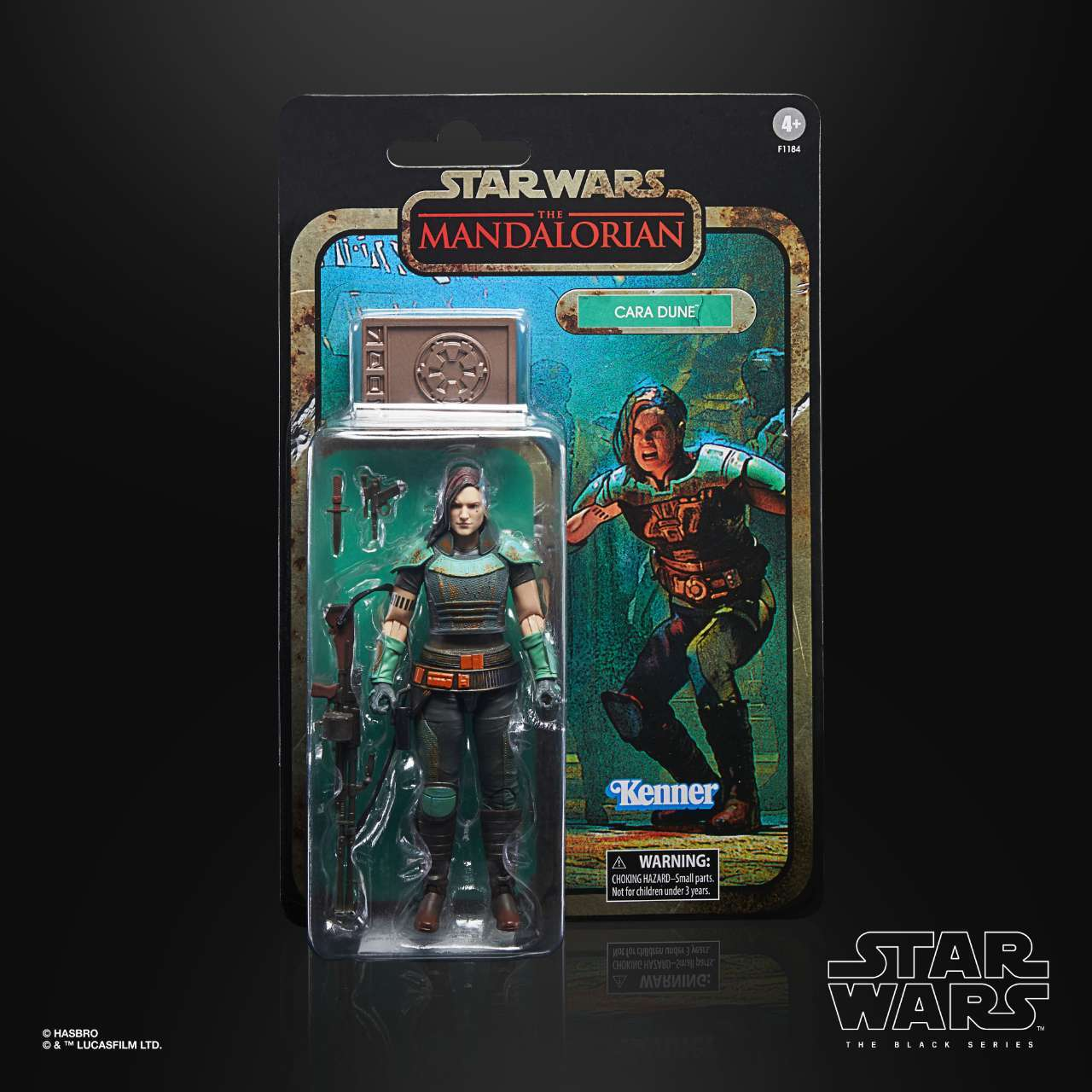 STAR WARS THE BLACK SERIES CREDIT COLLECTION 6-INCH CARA DUNE Figure - inpck