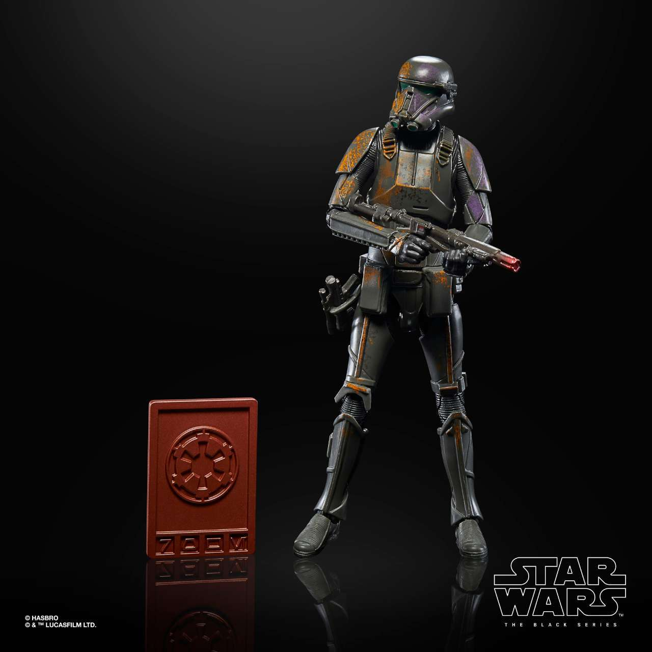 STAR WARS THE BLACK SERIES CREDIT COLLECTION 6-INCH DEATH TROOPER Figure - oop 2