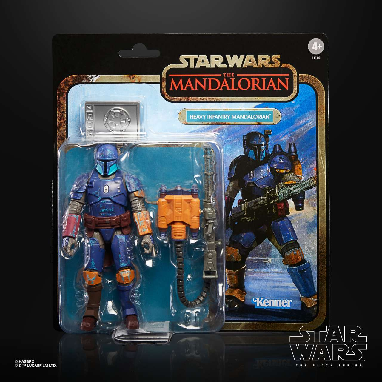 STAR WARS THE BLACK SERIES CREDIT COLLECTION 6-INCH HEAVY INFANTRY Figure - inpck